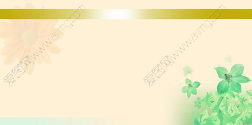 宣传栏花纹 底纹