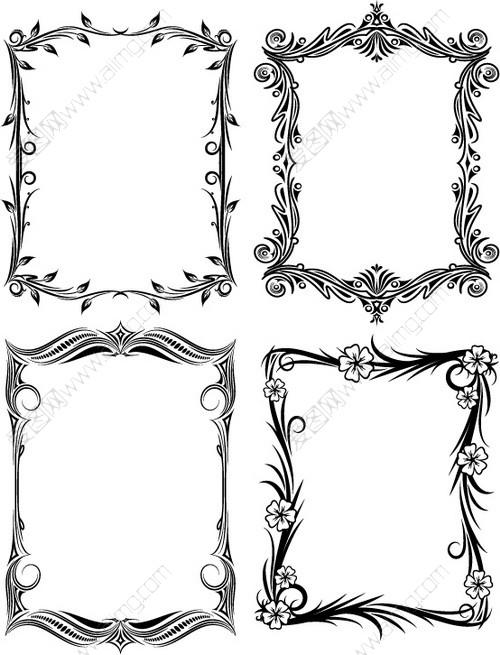 窗户手抄报边框简单又漂亮 手绘