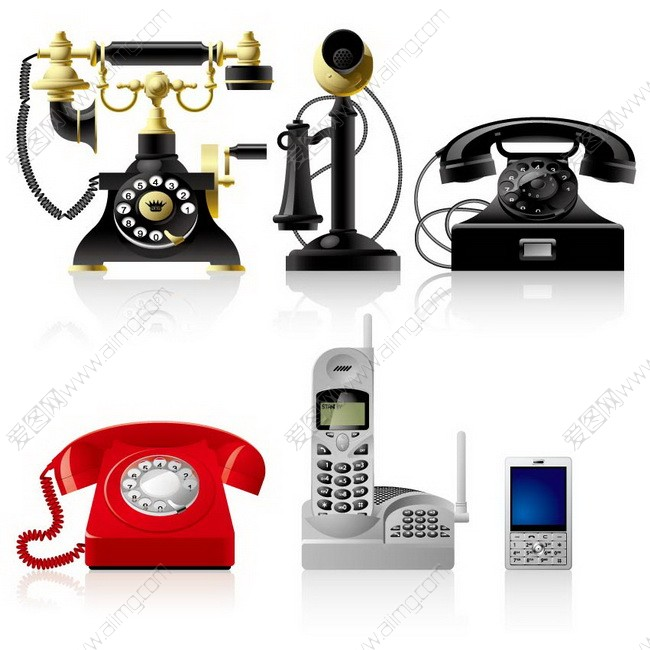 爱图首页 矢量素材 科技运输 > 素材信息   关键字: 矢量电话机古老