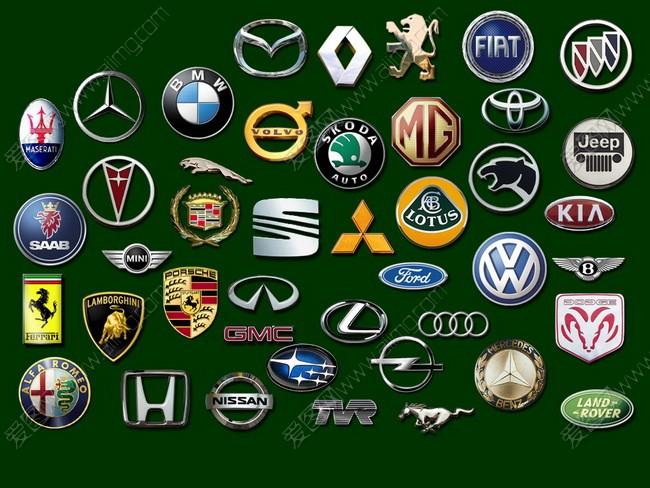 世界名车车标大全psd素材- 爱图网设计图片素