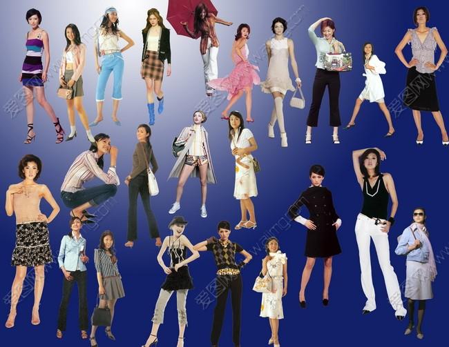 人物图片 > 素材信息   关键字: 模特女性模特服装模特美女人物psd