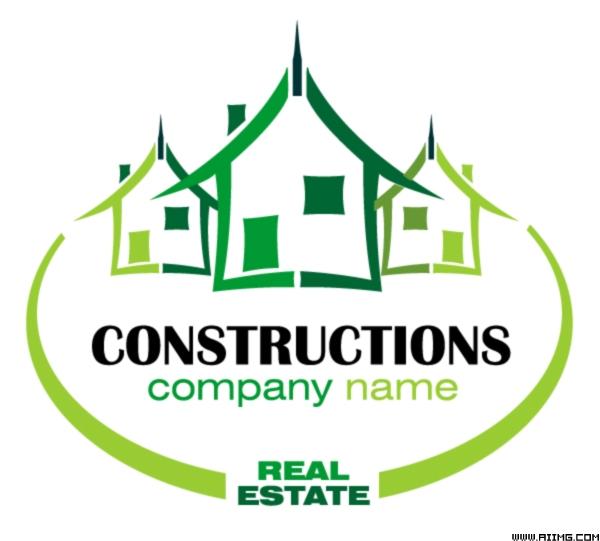 房地产logo设计元素矢量素材