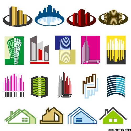地产家园图标矢量素材 - 365bet备用365bet备用网址