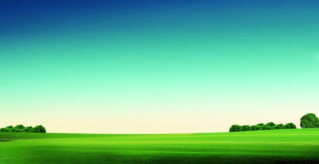 天空草地风景素材