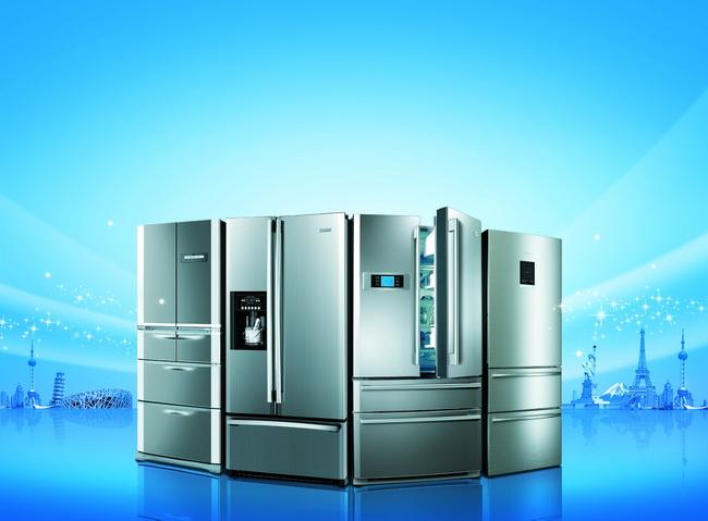冰箱广告psd分层素材