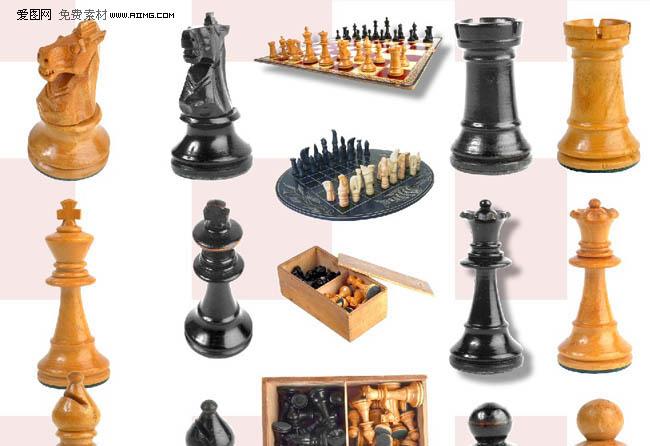 国际象棋psd分层素材集