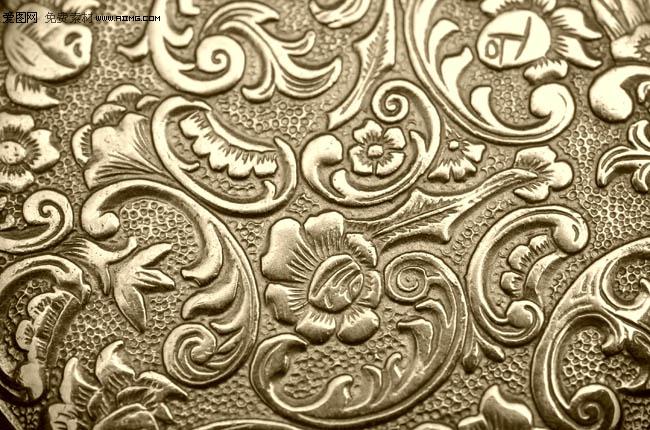 > 素材信息   关键字: 金色欧式花纹底纹欧式金属花纹  建筑园林雕塑
