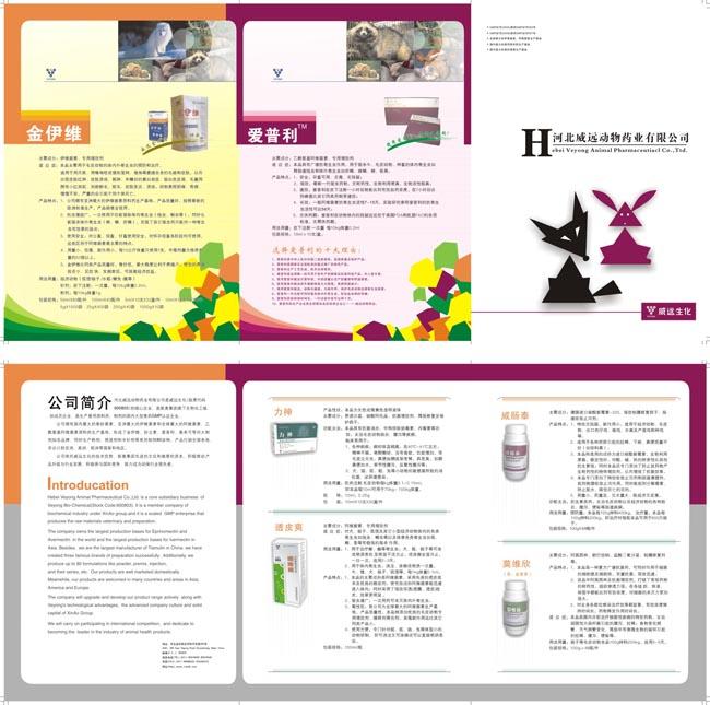 动物药业画册设计