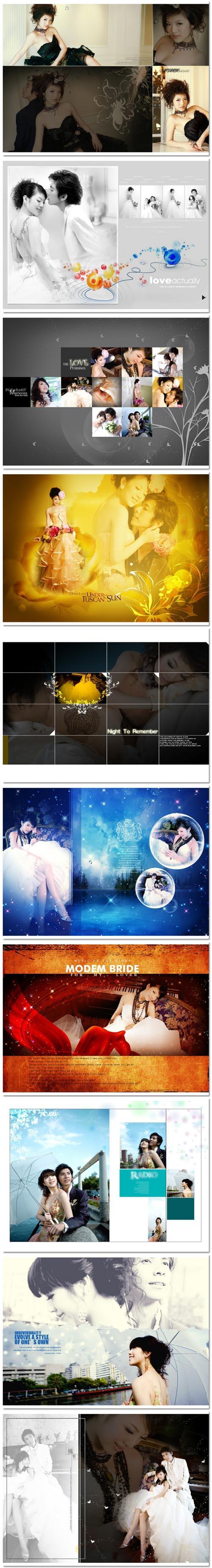 09展会星天地系列模板:随爱而飞10P