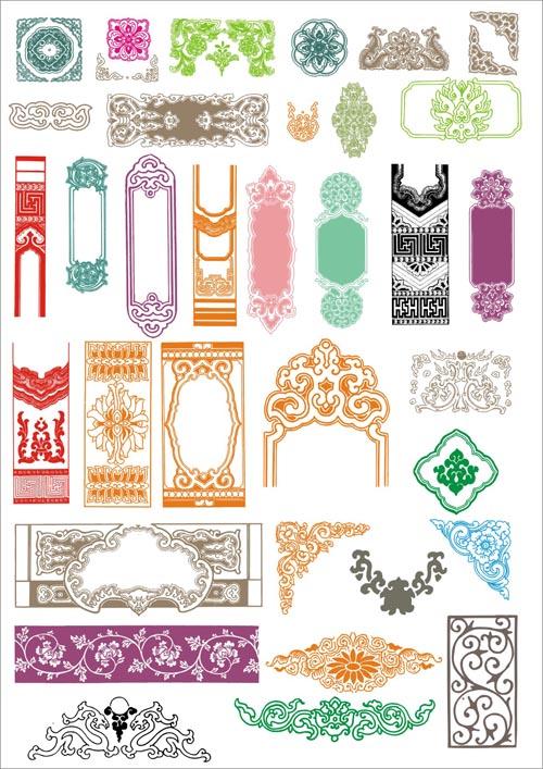 爱图首页 矢量素材 花边花角 > 素材信息   关键字: 中国古典花纹中国
