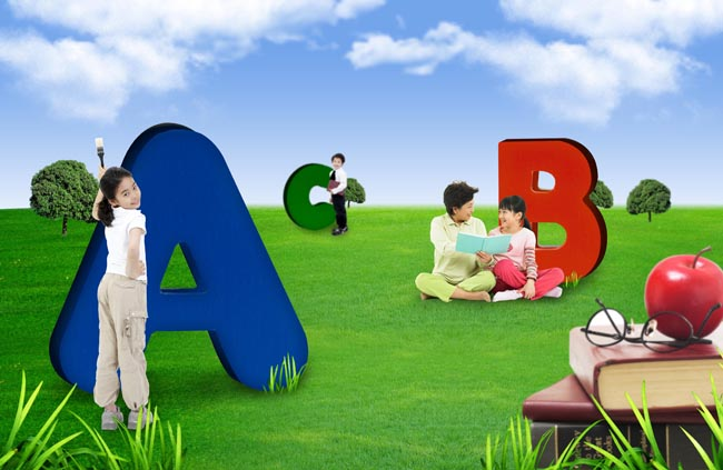 小学生学习生活6 - 爱图网设计图片素材下载