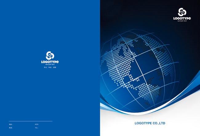 企业画册封面06 - 爱图网设计图片素材下载