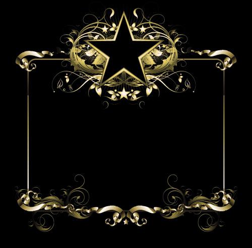 矢量素材 花边花角 > 素材信息   关键字: 盾牌花边边框花纹五角星