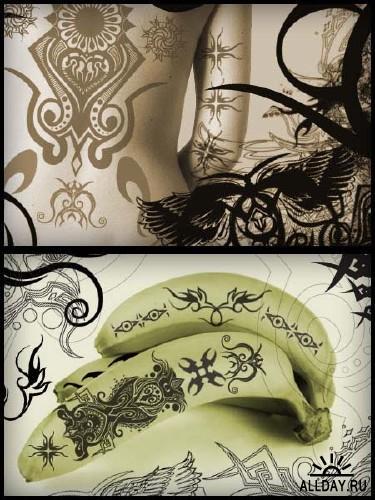 ps纹身完美笔刷 - 爱图网设计图片素材下载