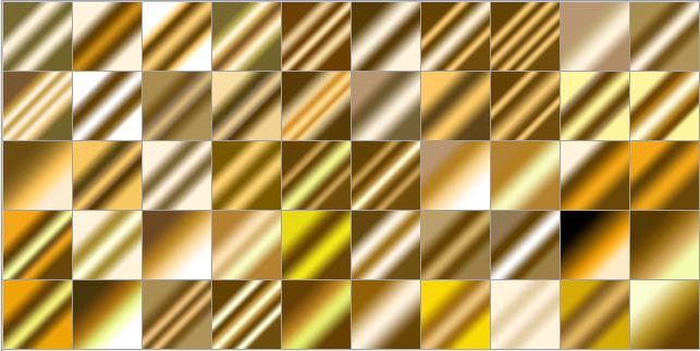 黄金简笔画彩色