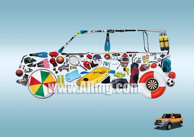 创意汽车psd素材 - 爱图网设计图片素材下载