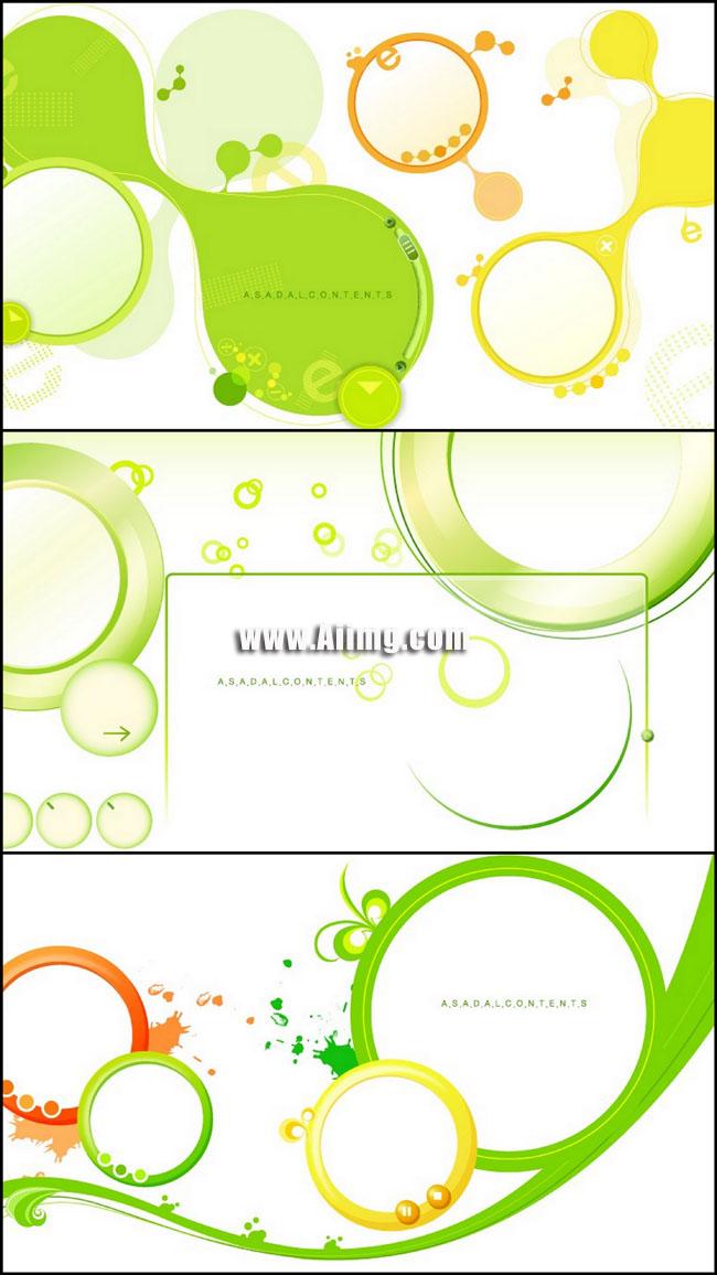 爱图首页 矢量素材 花边花角 边框 圆框 喷溅 蝴蝶 圆圈 科技 圆点