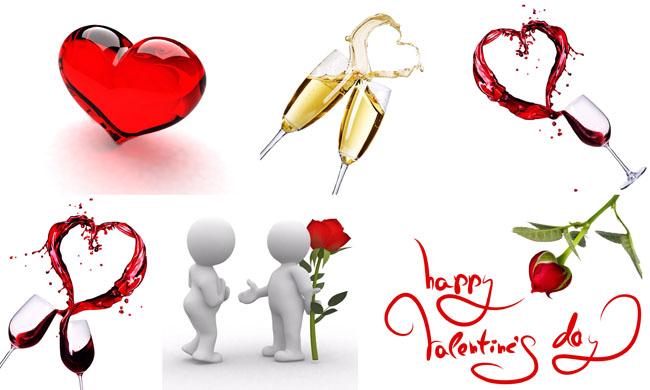 高清图片 节日庆典 > 素材信息   关键字: 心型立体心型碰杯心型红酒