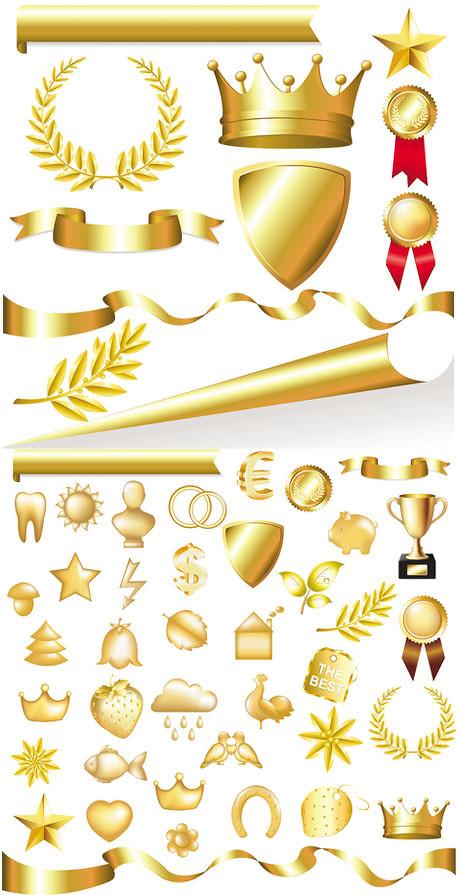 爱图首页 矢量素材 标识标志 金色 边框 金属 皇冠 草莓 猪 牙齿 心