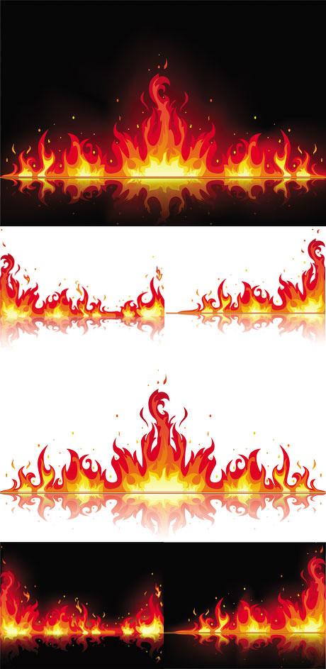 火焰足球矢量素材 燃烧的爱心矢量素材 金色的太阳矢量素材 200款图纹