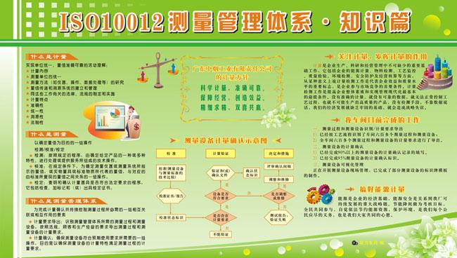关键字: iso10012测量管理体系知识iso管理体系宣传栏展板模板展板