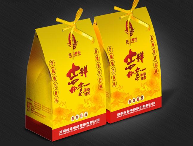 高档礼盒包装设计矢量素材
