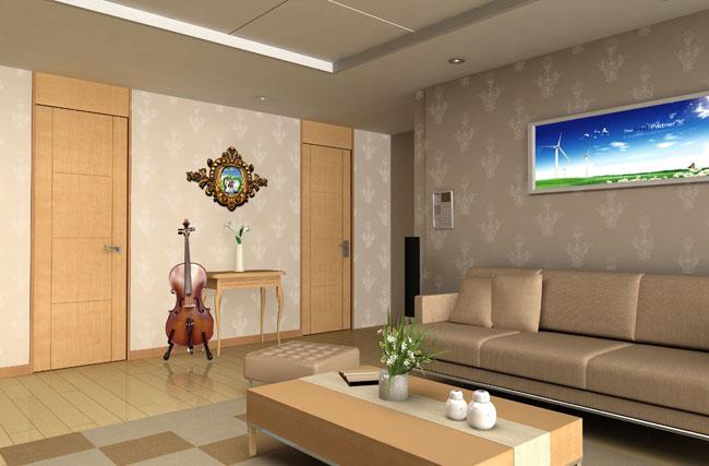 室内装修设计psd素材