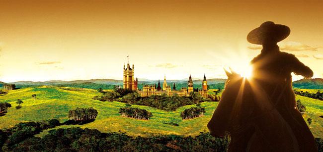 地产风景骑士海报设计psd素材