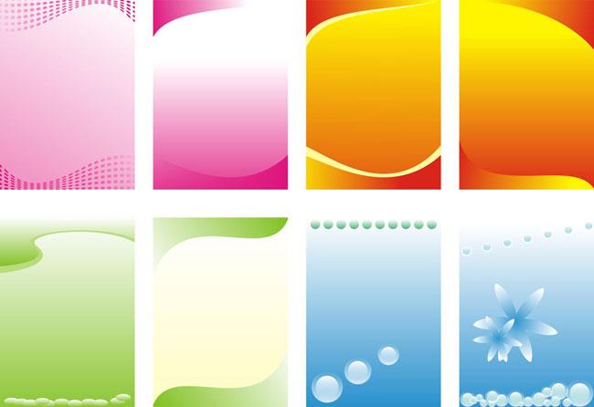广告设计模板规章制度牌背景花朵矢量花朵广告设计矢量cdrcdr矢量素材