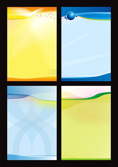 校园励志文化展板设计矢量素材 社区保健文化展板矢量素材 51大回馈