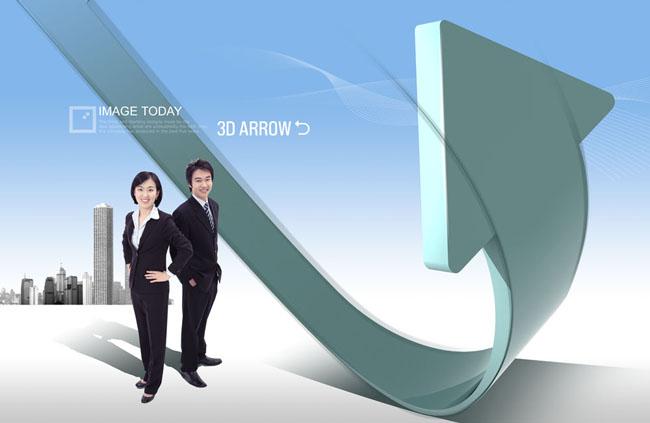 关键字: 概念海报海报设计海报模板企业文化职业人物职业男性商务