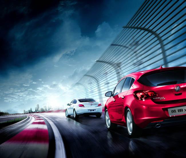 广告海报 > 素材信息   关键字: 别克汽车追逐图别克君威gs英朗xt赛道