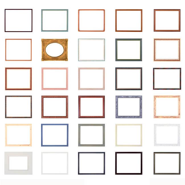 psd素材 花边花角 相框边框 相框 边框 画框 花框 装饰 装裱 设计