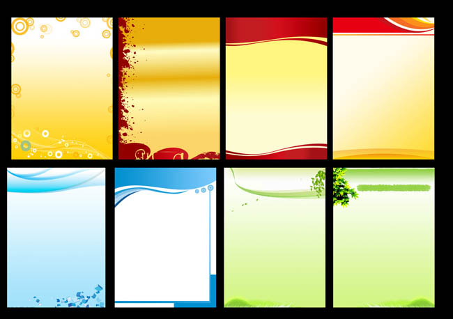 简洁制度背景展板设计psd素材