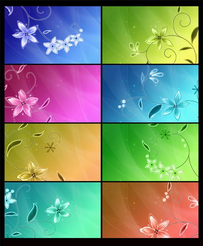 背景花饰 花朵 背景设计 梦幻背景 海报背景 展板背景 漂亮背景 背景