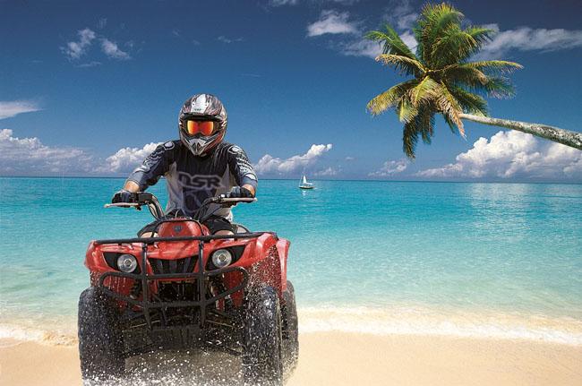 psd素材 广告海报 > 素材信息   关键字: 海边风景沙滩摩托沙滩摩托车
