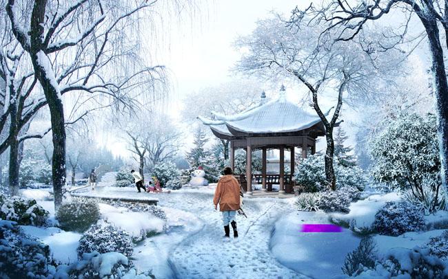园林园林景观环境设计当代建筑文化建筑环境设计建筑风景psd分层素材