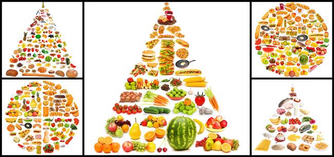 水果组合图案高清图片