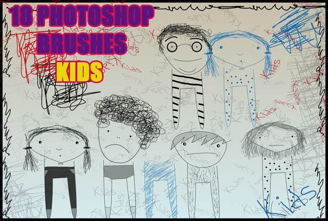 涂鸦人物 儿童手绘 涂鸦 手绘 铅笔画 绘画 线条 男孩 女孩 简笔画