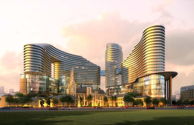 > 素材信息   关键字: 创意建筑草地国外建筑景观效果图建筑设计建筑