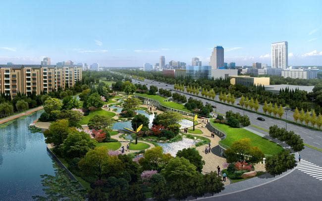图绿化景观园林景观设计园林设计环艺设计园林景观大树小景观psd素材