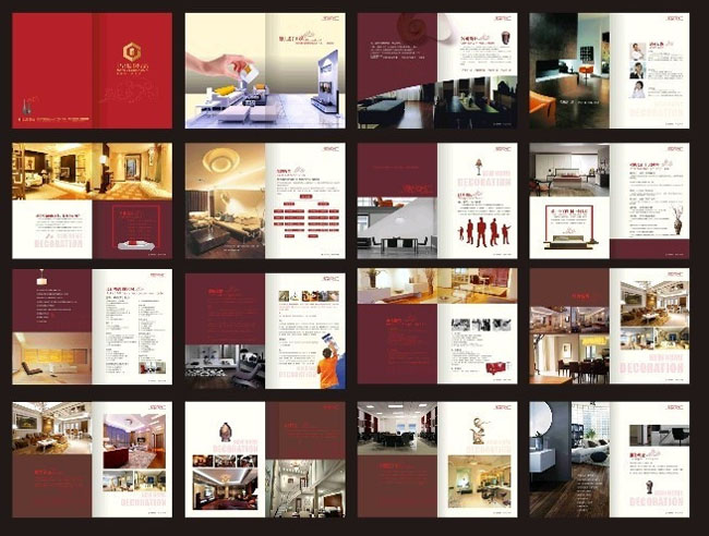 爱图首页 矢量素材 画册设计 > 素材信息   关键字: 公司宣传册企业