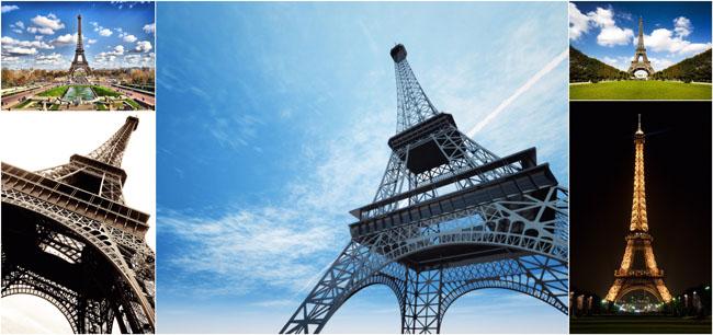 巴黎埃菲尔铁塔高清图片素材